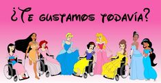Disabled Disney princess pricessess Snow White Disabled Disability Equal Rights Wellchair Health Art Campaign ADV Cartoon Painting Portrait Illustration Sketch Humor Chic by aleXsandro Palombo Film Disney, Disney Movies, Portrait Illustration, Illustration Sketches, Female Cartoon Characters, Disney Characters, Videos Princesas Disney, Beatles, Pocahontas