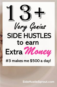 One of the secrets to being successful at making money is learning to think outside the box. You'll see ads all over the Internet wanting to hire people to work from home. Earn More Money, Ways To Earn Money, Earn Money From Home, Earn Money Online, Money Tips, Way To Make Money, How To Make, Money Hacks, Money Fast