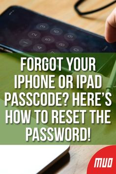 Ipad Discover Forgot Your iPhone or iPad Passcode? Heres How to Reset the Password! Forgot your iPhone or iPad passcode and your device is disabled? Heres how to unlock a disabled iPhone or iPad and restore data. Iphone Hacks, Cell Phone Hacks, Smartphone Hacks, Iphone 5s, Apple Iphone, Life Hacks Computer, Computer Basics, Computer Help, Computer Tips