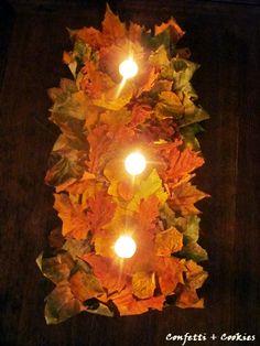 Autumn leaves... ~ Confetti+Cookies