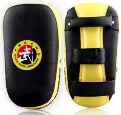 MMA Muay Thai TKD Punching Curve Pads PU leather