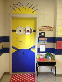 I want to have a classroom with a door so I can do THIS for my science class!!!!