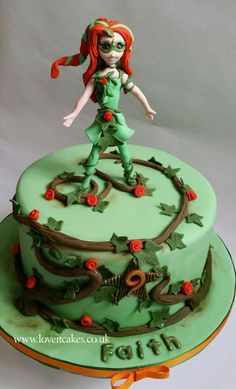 Poison Ivy - Cake by Love it cakes