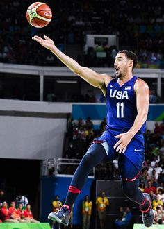 Klay Thompson | Team USAs gold medal game against Serbia
