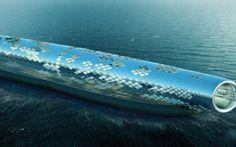 Cibo: Un #tubo #gigante ad energia solare per desalinizzare lacqua marina (link: http://ift.tt/2cA0eJU )