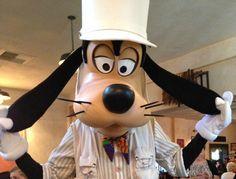 disney character at goofys bounce house | Goofy at Tusker House Restaurant in Disney's Animal Kingdom park at ...