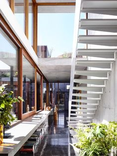 It's not often that a passage way gets my design senses tingling but I'm loving everything abou...
