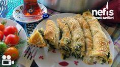 El Açması Ispanaklı Kol Böreği Yapımı