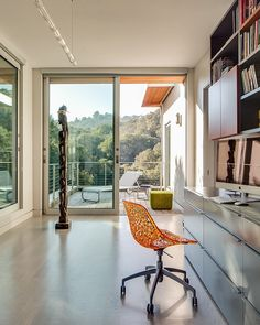 A Modern Upgrade: Volumetric House in California With a View
