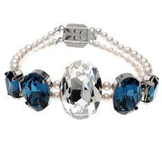 Tutorial - How to: Something Montana Blue Bridal Bracelet | Beadaholique