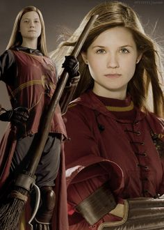 28.) Ginny Weasley is my favourite Weasley. I love how in the books she is brave, caring and sarcastic. She seems to be a great fit for Harry. I really dislike how she was portrayed in the movies as helpless though, because I love how helpful she was in the books.