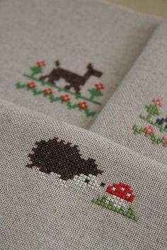 Cross-stitch by Katia Donohoe, via Flickr