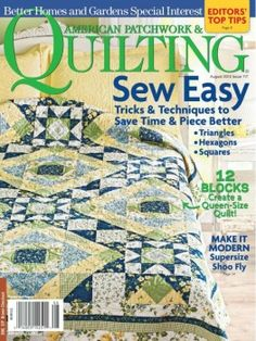 American Patchwork & Quilting №117 August 2012