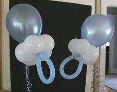 Use both pink and blue balloons for a gender reveal party!