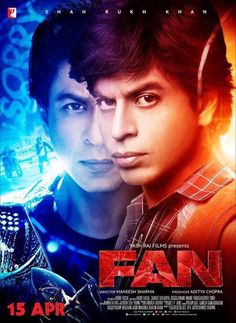 "taran adarsh on Twitter: ""Brand new poster of #Fan. #Fan15April2016 #YRF #SRK https://t.co/h1e6pDTspg"""