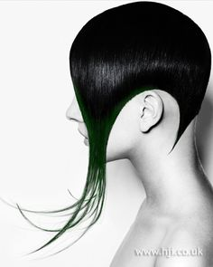 Avant Garde Great Precision Cut With Use Of Multi Colours. They Use The Green Under Colour Very Effectively. #AvantGarde #PrecisionCut