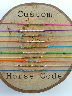 Morse Code Bracelet Messages I Love Printer Metal Technology Referral: 6958611101 Morse Code Letters, Morse Code Words, Morse Code Tattoo, Secret Sister Gifts, Morse Code Bracelet, Coding For Kids, Messages, 3d Printer, Jewelry Making