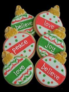 ornament cookies | Ornament Cookies