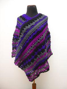 Hey, I found this really awesome Etsy listing at https://www.etsy.com/listing/169287038/poncho-crochet-womens-ponchos-boho-chic