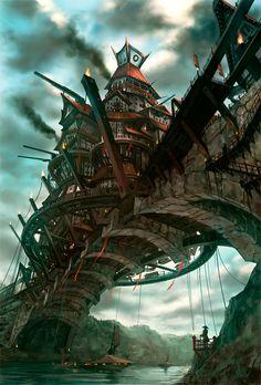 pixiv fantasia cities - Tìm với Google