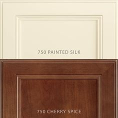 What happens when you add 750 Painted Silk to 750 Cherry Spice? Beyond a stunning contrast? Find out in this week's blog on Wednesday.  #waypointlivingspaces #kitchencabinets #cherryspice #paintedsilk Cherry Cabinets, Painted Silk, Painting Cabinets, Silk Painting, Cabinet Doors, Wednesday, Spice, Living Spaces, Contrast