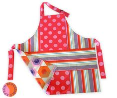 Reversible Summer Apron – Two Great Looks | Sew4Home