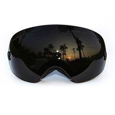 COPOZZ Ski Goggles with Googles Case - Skiing,Snow,Snowboard,Snowboarding,Snowmobile Glasses with Dual Anti-fog PC REVO Lens - Anti-UV - Large Frame for Adult,Men,Women,Youth Dark Black Copozz http://www.amazon.com/dp/B018WVF850/ref=cm_sw_r_pi_dp_y35Ewb02N7DJ8