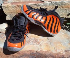 "Nike Air Foamposite One ""Eye of the Tiger"" Customs"