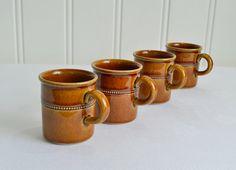 Small demitasse cups, vintage Swedish ceramic mocha and espresso mugs , old…