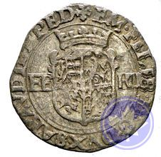 Italie Savoie 1579 bianco em filiberto nice ttb