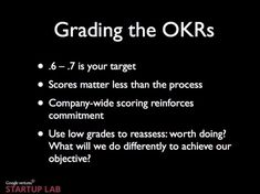 Google's Ranking System, OKR - Business Insider John Doerr, Make A Presentation, Larry Page, Becoming A Blogger, You At Work, Grading System, Read Later, Search Engine Optimization, Leadership