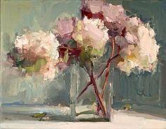 Lisa Noonis beautiful floral painting is soft shades of color Paintings I Love, Beautiful Paintings, Oil Paintings, Floral Paintings, Indian Paintings, Abstract Flowers, Abstract Art, Painting Flowers, Art Flowers
