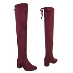b2d80366151160 Overknees Damenschuhe Klassischer Stiefel Blockabsatz Blockabsatz  Reißverschluss Ital-Design Stiefel overknees outfit stiefel Mode Frauen