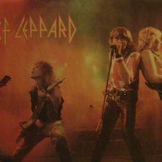 🤘 Vintage Def Leppard Poster - Pyromania Era ⚡ #defleppard #pyromania #joelliott #1980s #rock #80smetal