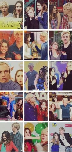 Ross...ALWAYS with Laura :)