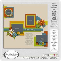 Template freebie from Kay Miller Designs #scrapbook #digiscrap #scrapbooking #digifree #scrap