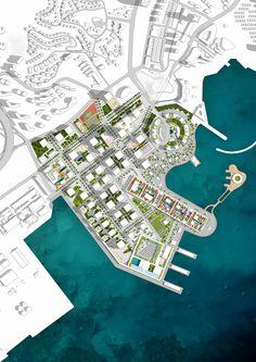 Prince Bay Masterplan. OMA (2014)