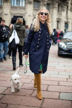 Pin for Later: Ciao Bella! Der beste Street Style der Milan Fashion Week Street Style bei der Mailänder Modewoche