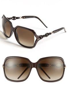 gucci oversized sunglasses | Gucci 'Marina Chain' 59mm Oversized Sunglasses | Nordstrom