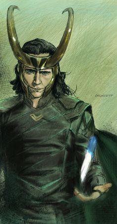 Loki by Orchydett on DeviantArt Loki Thor, Tom Hiddleston Loki, Loki Laufeyson, Marvel Avengers, Loki Art, Avengers Art, Marvel Characters, Marvel Movies, Loki Drawing