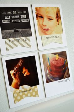 witticisms: Fabulous Frames with die cuts from magnetic vent covers