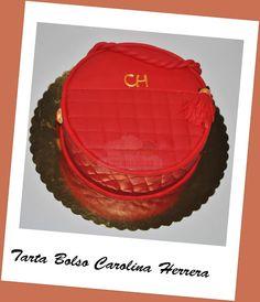Virginias Cake: Tarta Bolso Carolina Herrera