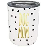 Dog Mom Paw Print 12 Ounce Stainless Steel Double Wall Tumbler with Lid This is an affiliate link which means I could receive a small commission if you purchase the product through this link. Gifts For Dog Owners, Dog Lover Gifts, Dog Gifts, Dog Lovers, Dog Home Decor, Crazy Dog Lady, Dog Shop, Custom Cups, Custom Dog Portraits