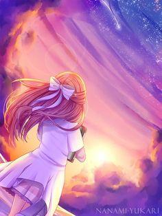 0 cute anime girl image wallpaper hd high definition wallpapers s. by nanami yukari shelter anime Anime Girls, Anime Girl Cute, Beautiful Anime Girl, Manga Girl, Anime Love, Sad Anime, Anime Demon, Anime Art Fantasy, Anime Sunset