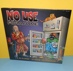 NO USE FOR A NAME leche con carne LP Record Vinyl SEALED ,  #PUNK