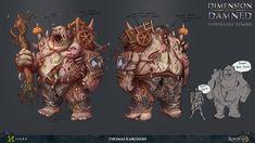 RuneScape - Unwieldly Zombie, Thomas Karlsson on ArtStation at https://www.artstation.com/artwork/oY3Eq