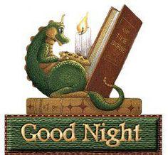 """Good Night"" by Randal Spangler Fantasy Dragon, Dragon Art, Fantasy Art, Magical Creatures, Fantasy Creatures, Breathing Fire, Cute Good Night, Good Night Greetings, Cool Dragons"