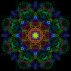 Eight paths for tri-rainbows - Symmetry virus by Mauro B.
