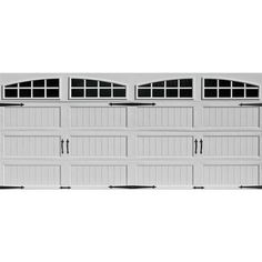 ideal door arched lite white arch lite long panel carriage house ez set garage doors at menards ideal door carriage house 9 ft - Menards Garage Doors
