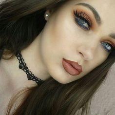 Peach and blue 🍑 @en_angie 💁Share your looks to be featured #GlamExpress  #morphepalette #morphebabe #morphegirl #makeup #makeuplook #makeuplover #makeupjunkie #makeupaddict #makeupfanatic1 #makeupoftheday #mua #makeupartist #makeupslaves #slave2beauty #slay #undiscovered_muas #hudabeauty #anastasiabeverlyhills #norvina